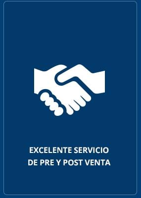 Excelente Servicio de Pre y Post Venta