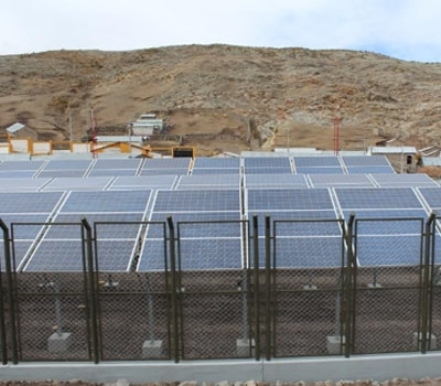 Planta fotovoltaica de 30KW